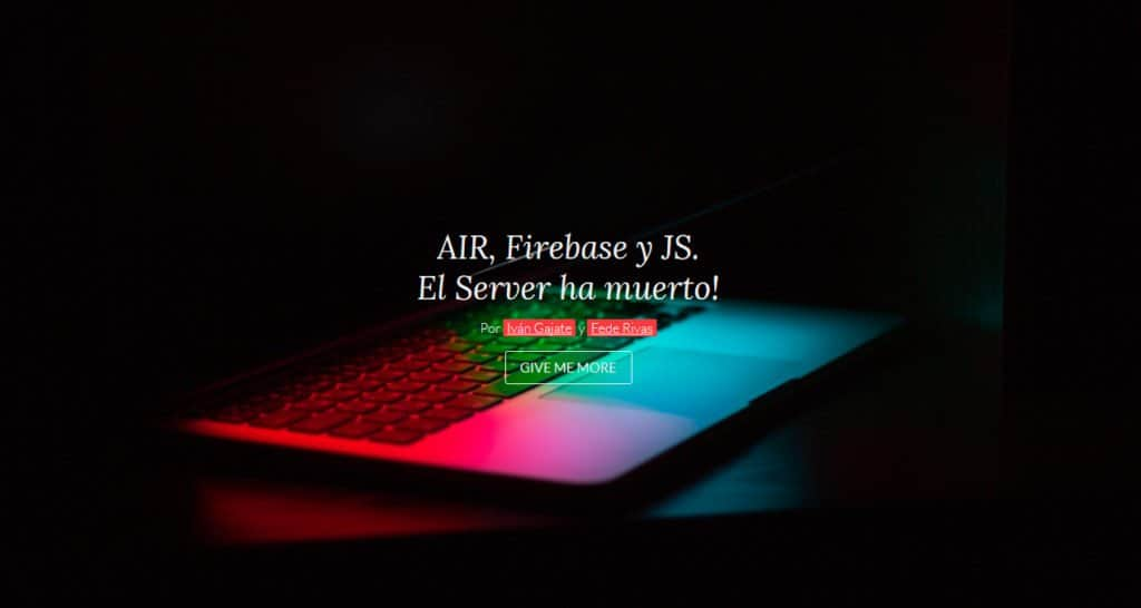 taller02 - AIR, Firebase y JS, El Server ha muerto.