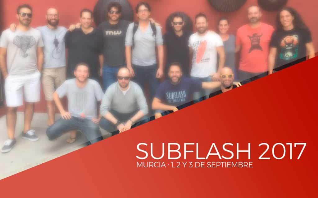 Subflash 2017 en Murcia, 1, 2 y 3 de Septiembre