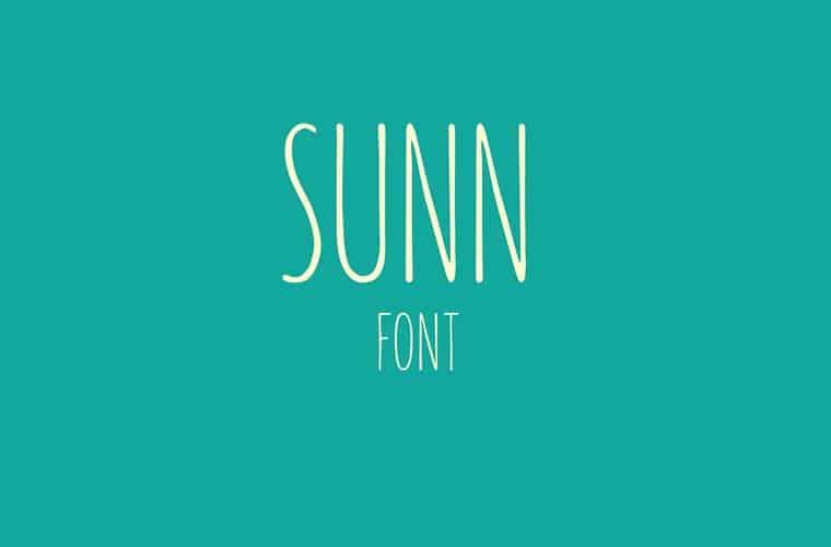 sunn_font_preview