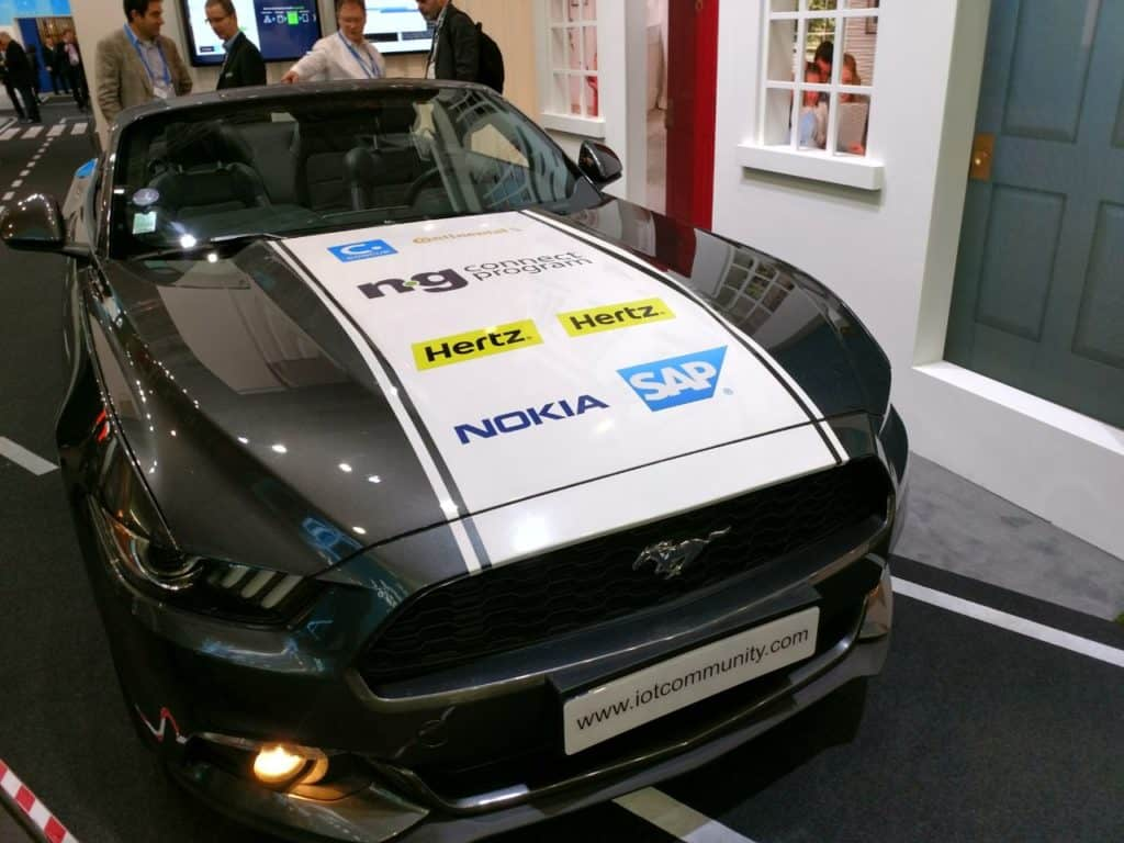 IoT Enabled Ford Mustang GT Nokia
