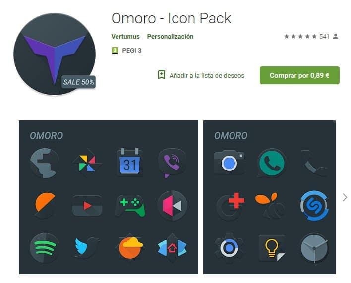 Omoro IconPack