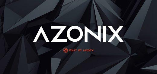 Azonix free font