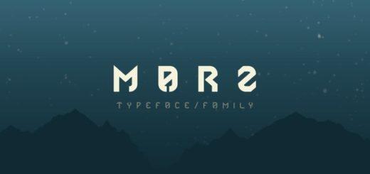 Marz Font