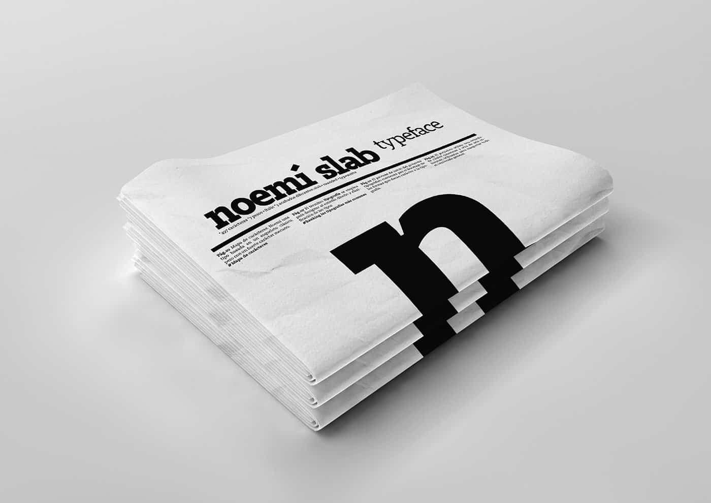 Noemí Slab Typeface
