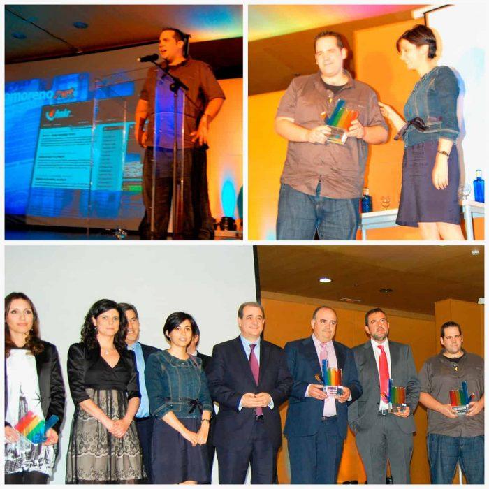 Premio a La Mejor Página Web Personal - Diario La Verdad de Albacete, 2011