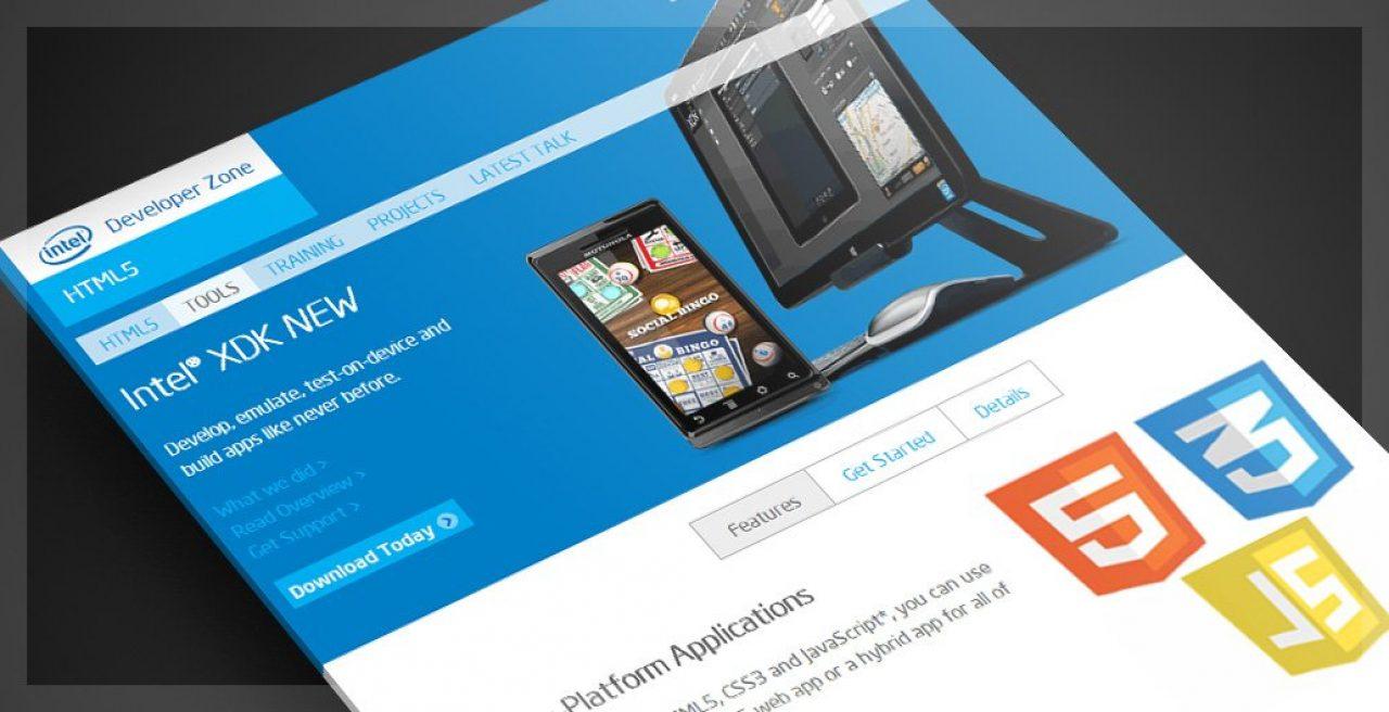 Intel XDK para HTML5 y CSS3